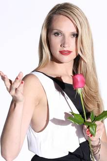 "Die ""Bachelorette"" Anna Christiana Hofbauer."