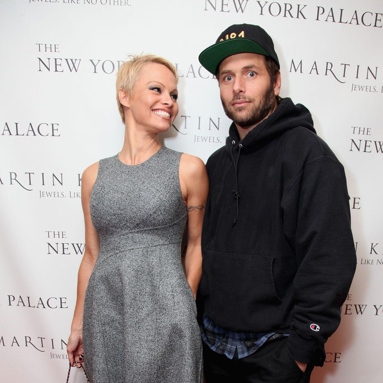 Pamela Anderson + Rick Salomon