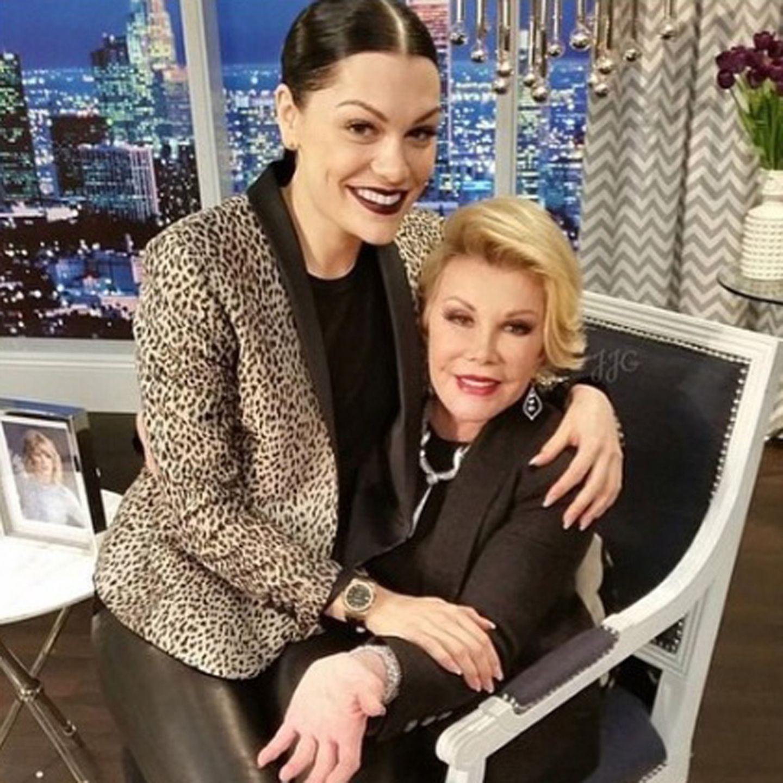 Jessie J + Joan Rivers