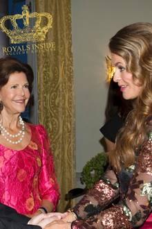 Königin Silvia und Prinzessin Madeleine