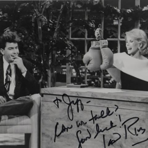 Charlie Sheen + Joan Rivers