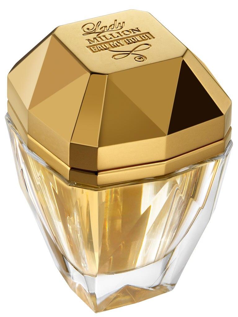 """""""Lady Million Eau My Gold!"""" von Paco Rabanne, EdT, 30 ml, 46 Euro"""