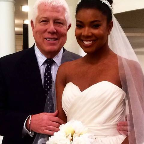 Dennis Basso + Gabrielle Union