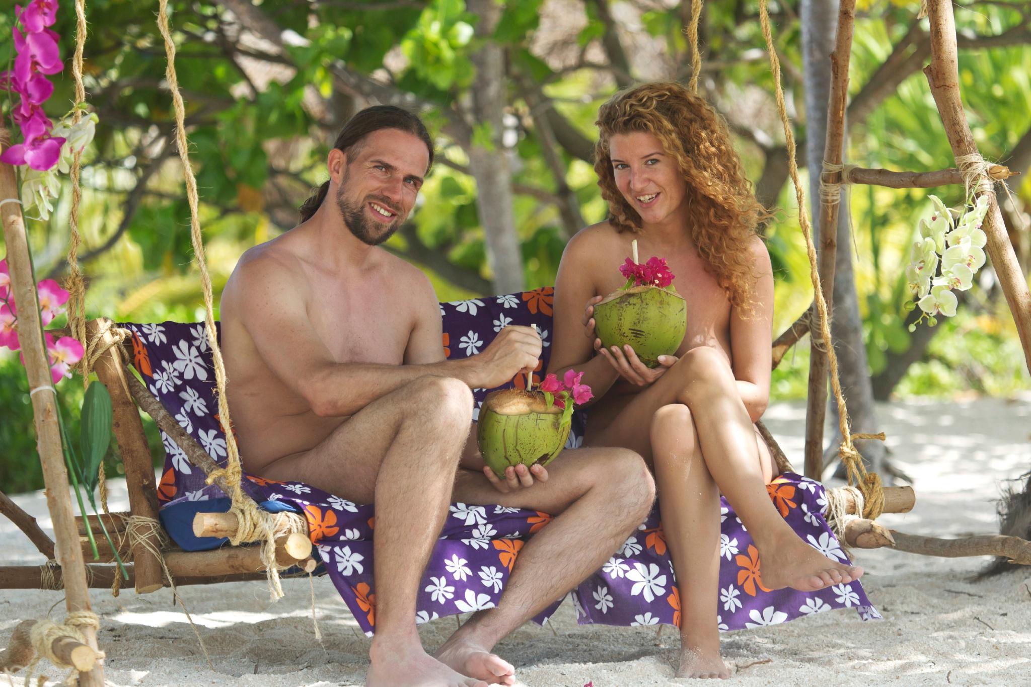 Adam Und Eva Im Paradies