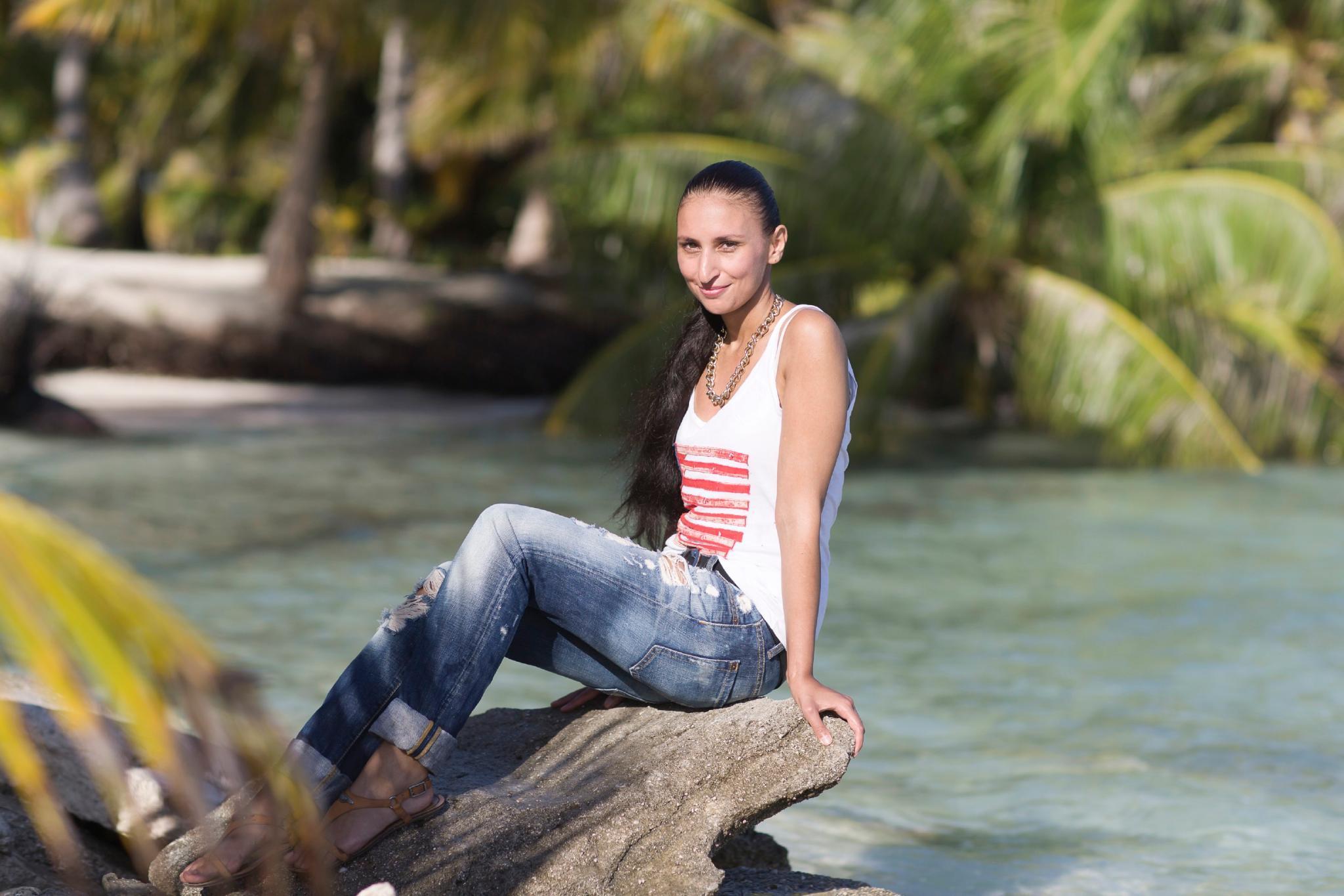 """Julia aus Witten kommt als """"zweite Eva"""" auf die einsame Insel."""