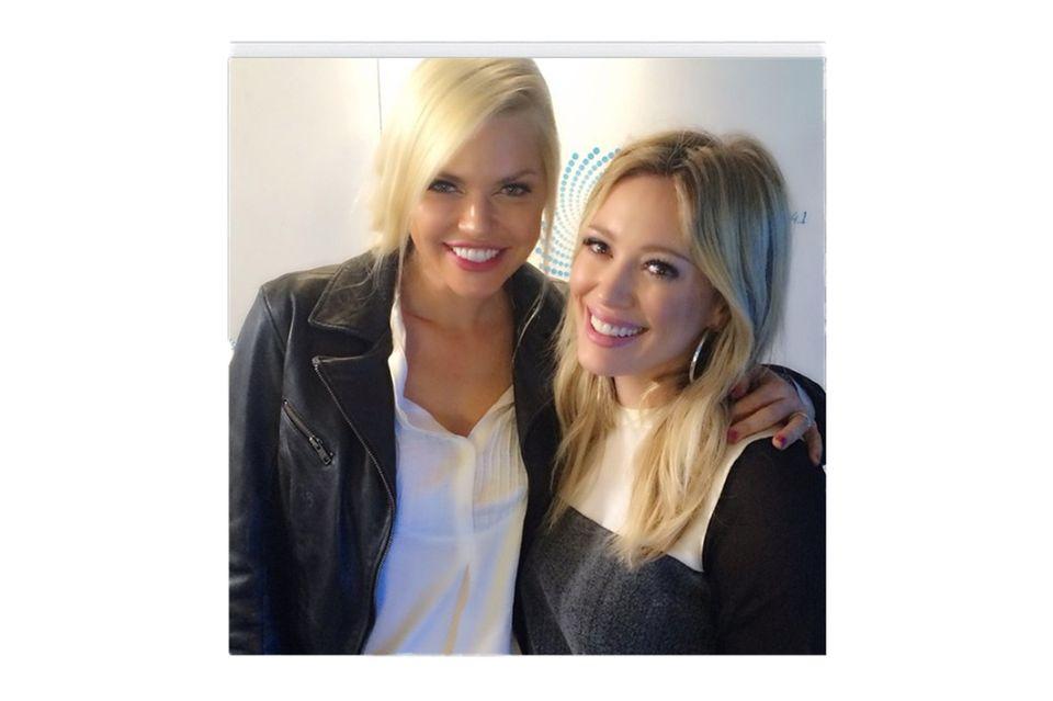 Sophie Monk + Hilary Duff