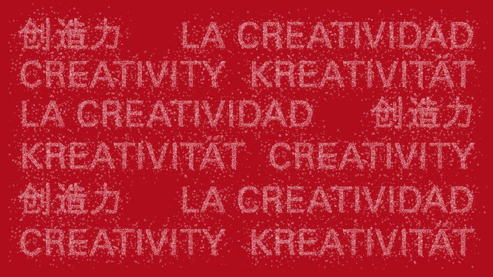 """Das Motto der Bertelsmann-Party 2014 lautet """"Kreativität"""" und findet sich auch auf dem Logo wieder."""