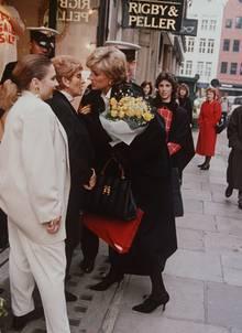 Prinzessin Diana als Kundin bei Rigby & Peller
