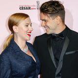 Frischgebackene Eltern: Seit zwei Jahren ist Scarlett Johansson mit dem französischen Journalisten Romain Dauriac zusammen.
