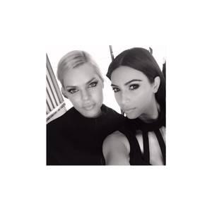Kim Kardashian + Sophie Monk