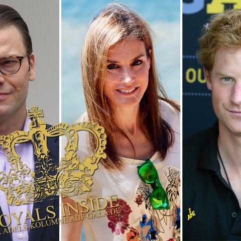 Prinz Daniel, Königin Letizia, Prinz Harry