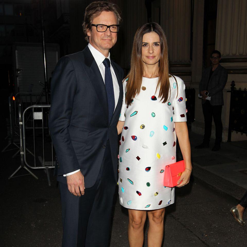 Colin Firth + Livia Giuggioli
