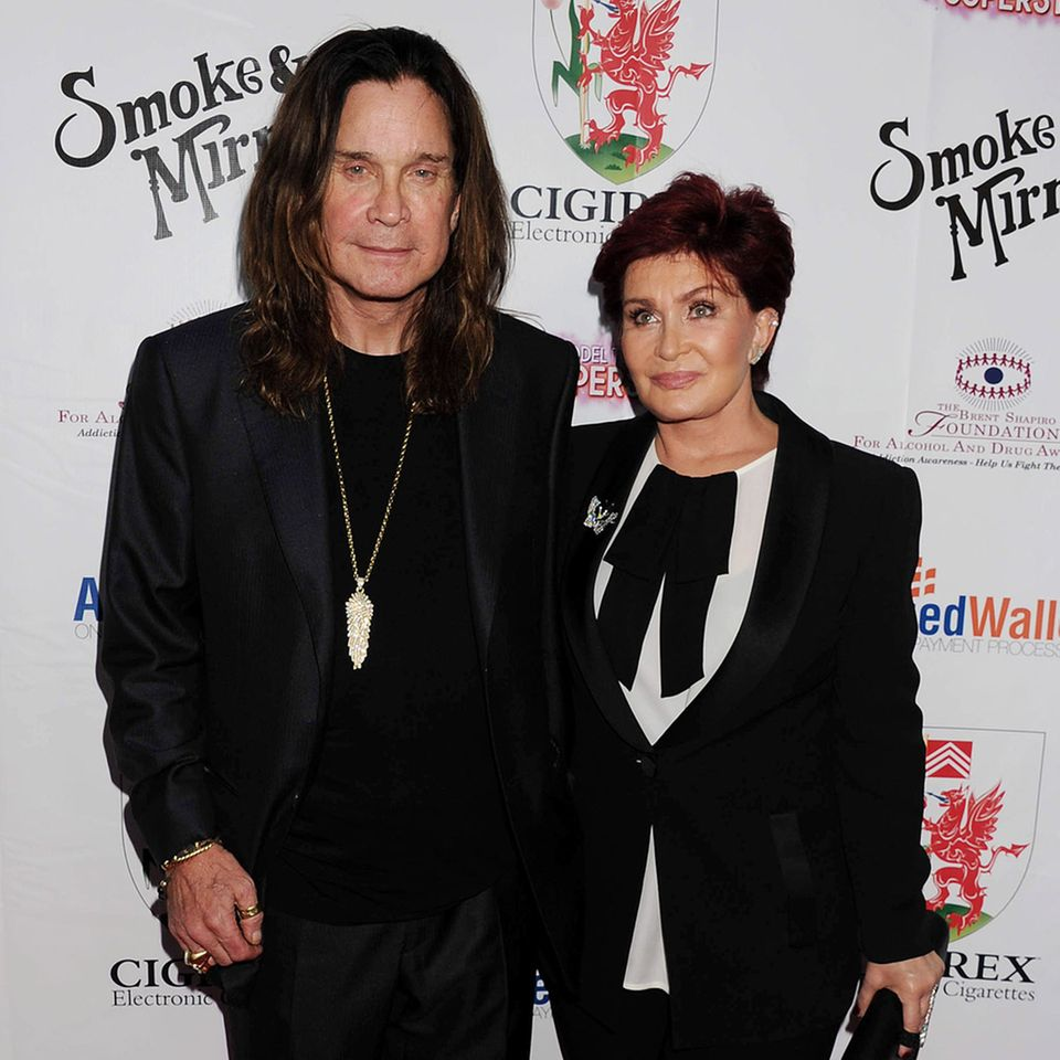 Ozzy + Sharon Osbourne