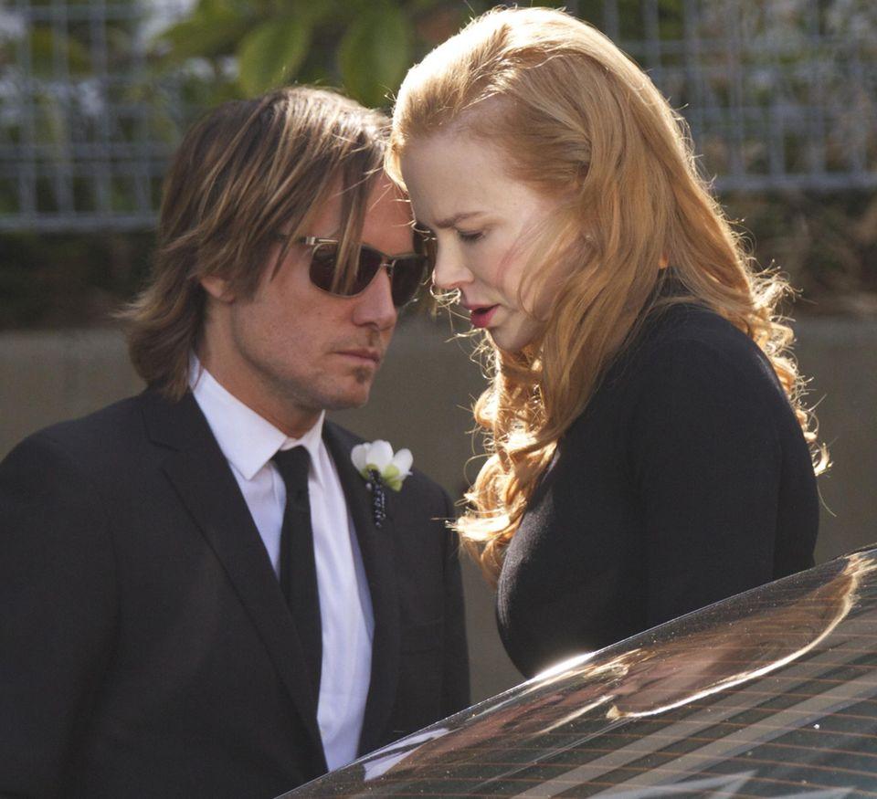 Bei ihrem Mann Keith Urban findet Nicole Kidman in dieser schweren Zeit Trost.