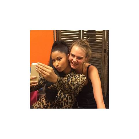 Nicki Minaj + Cara Delevingne