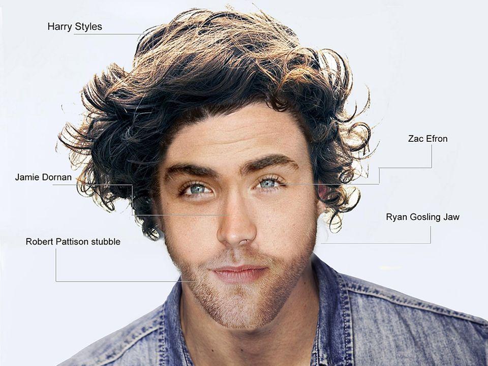 Der perfekte Mann unter 30: Eine Mischung aus Zac Efron, Robert Pattinson und Ryan Gosling.