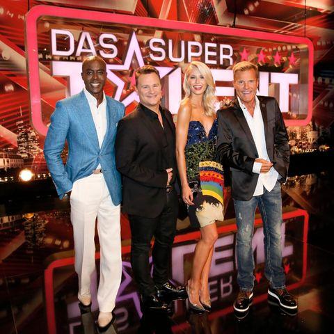 Bruce Darnell, Guido Maria Kretschmer, Lena Gercke, Dieter Bohlen