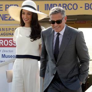 George Clooney + Amal Alamuddin