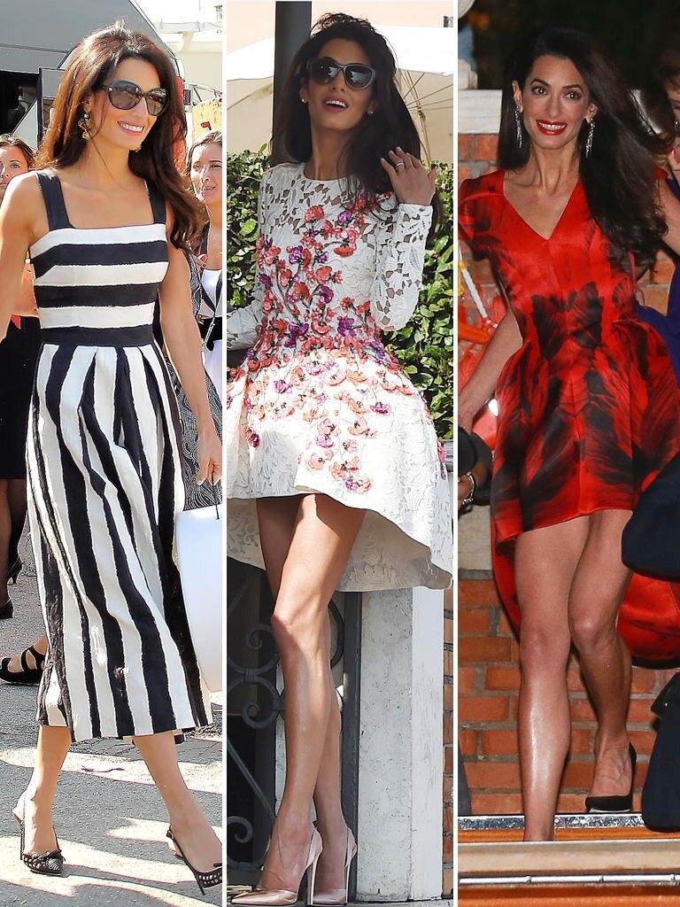Amal hat an der Seite von George Clooney schon oft bewiesen, wie viel Klasse sie besitzt.