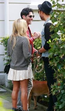 Samuel lernt Sylvies besten Freund André Borchers kennen.