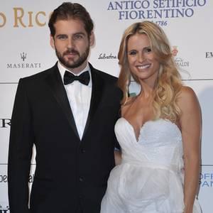 Tomaso Trussardi + Michelle Hunziker