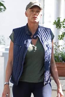 Traurig: Brigitte Nielsen trinkt wieder Alkohol.