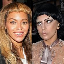 Beyoncé (li.) und Lady Gaga (re.)
