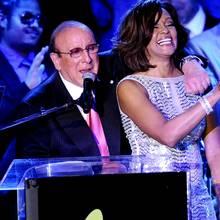 Clive Davis + Whitney Houston