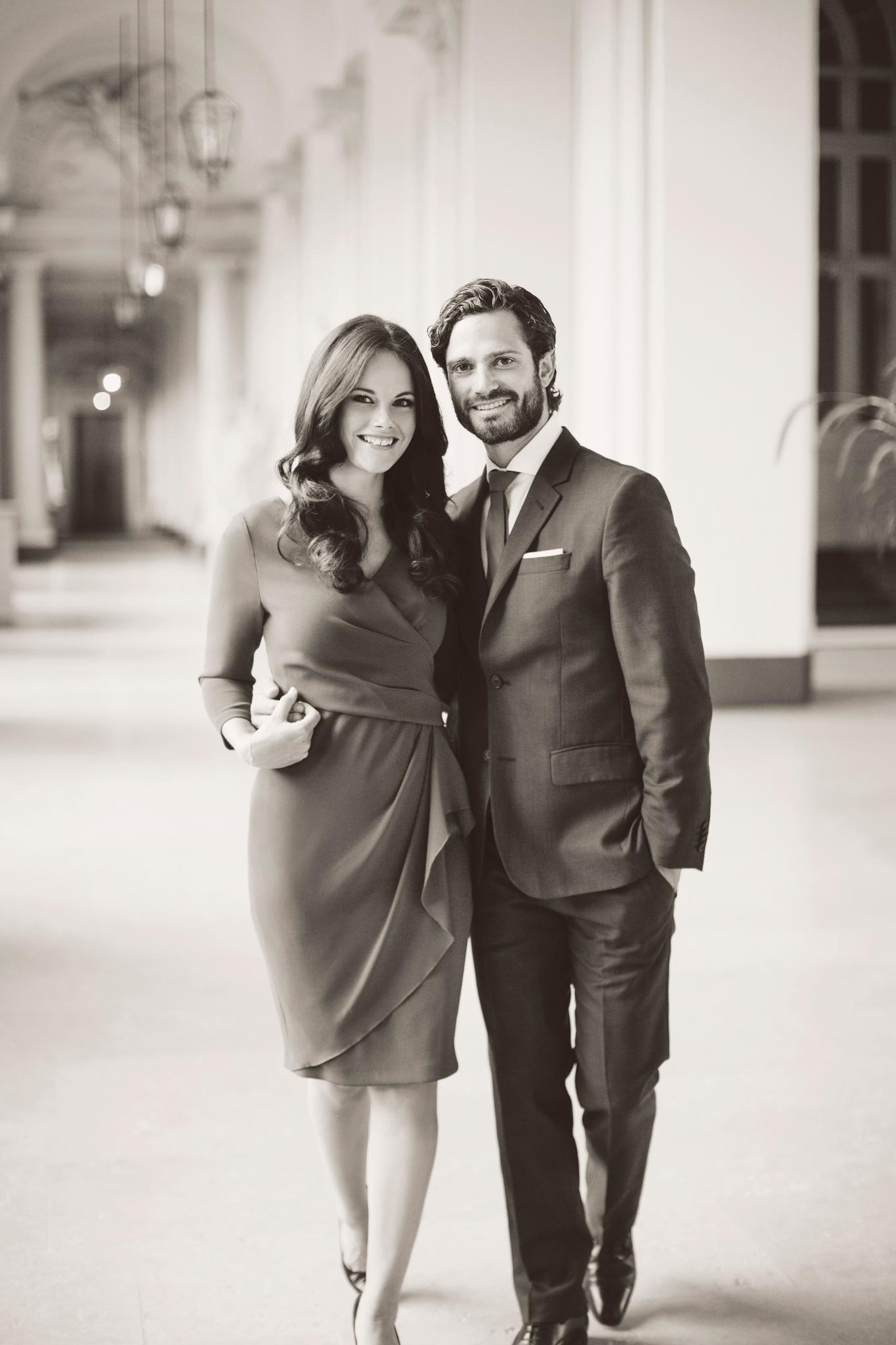 Sofia Hellqvist und Prinz Carl Philip