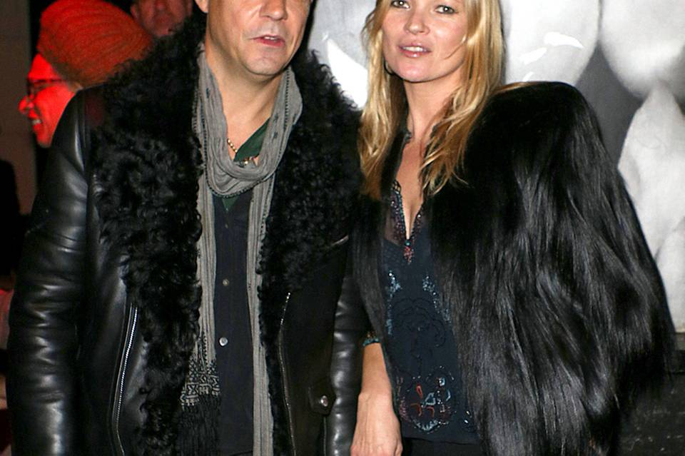 Jamie Hince + Kate Moss