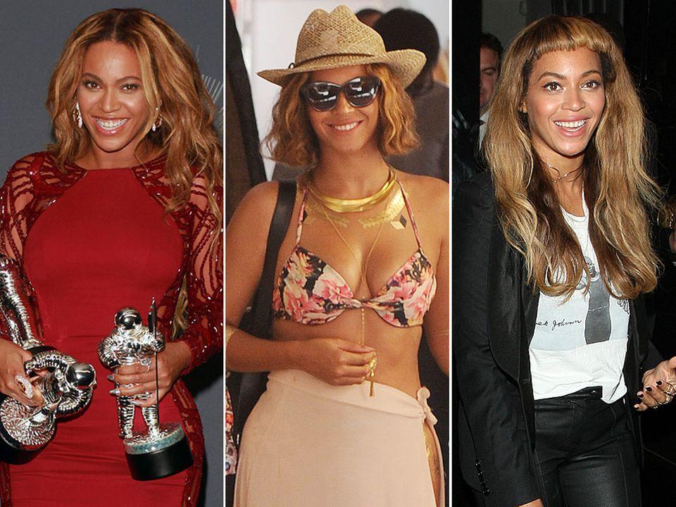 Lange Mähne, kurzer Bob, Pony-Frisur: In den letzten Wochen hat Beyoncé ihre Frisur ständig verändert. Doch bei keiner Frisur waren ihre Fans so zwiegespalten wie bei ihrer ausgefransten Pony-Partie.