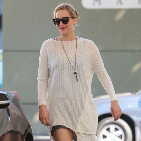 Jennifer Lawrence: 1. Foto: So happy ist sie nach der Trennung