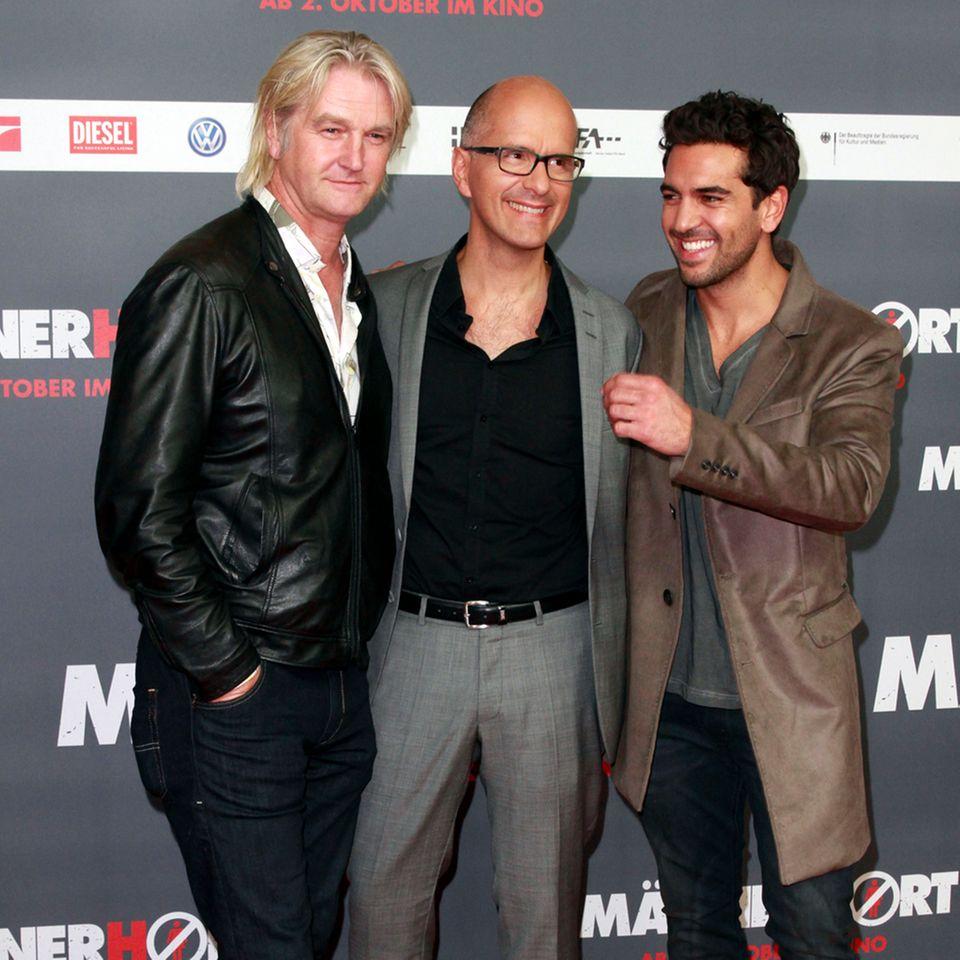 Detlev Buck, Christoph Maria Herbst + Elyas M'Barek