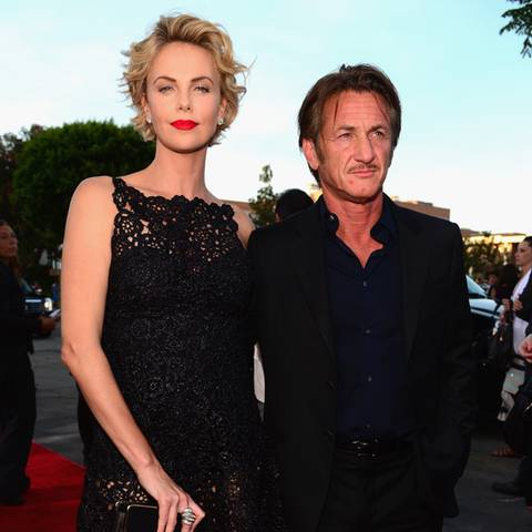 Charlize Theron + Sean Penn