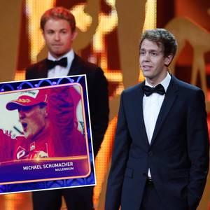 Sebastian Vettel, Michael Schumacher