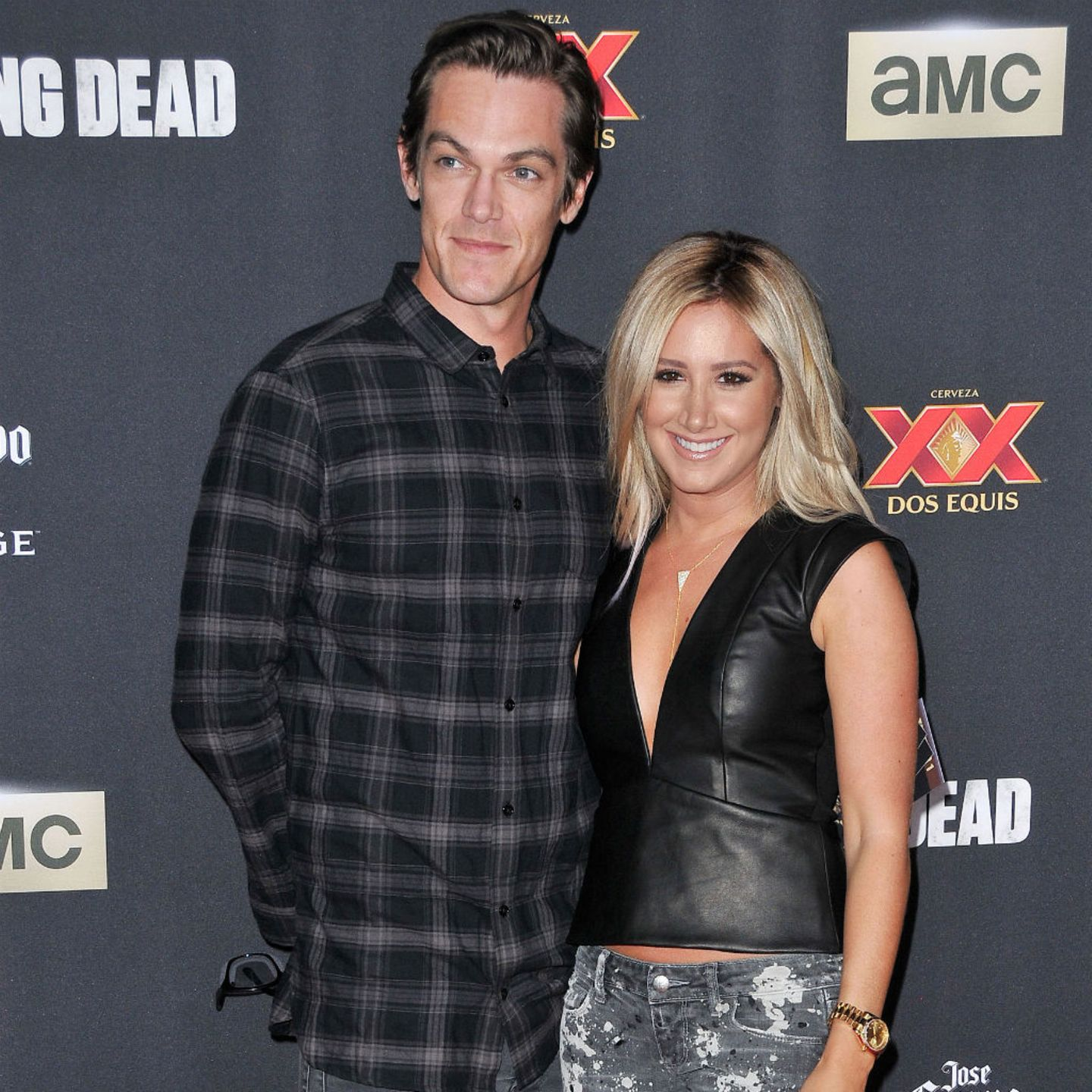 Ashley Tisdale + Christopher French