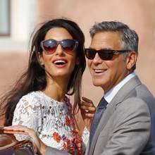 Amal Clooney + George Clooney