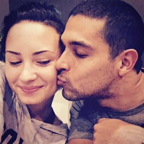 Demi Lovato + Wilmer Valderrama