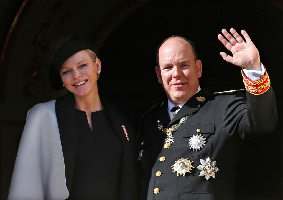 Fürstin Charléne und Fürst Albert