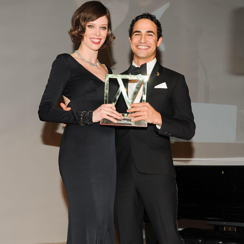 Coco Rocha + Zac Posen