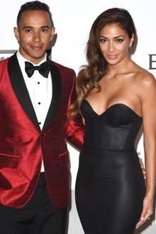 Lewis Hamilton + Nicole Scherzinger