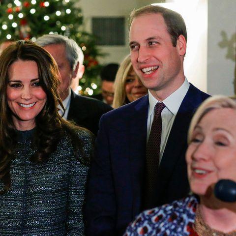 Prinz William + Herzogin Kate