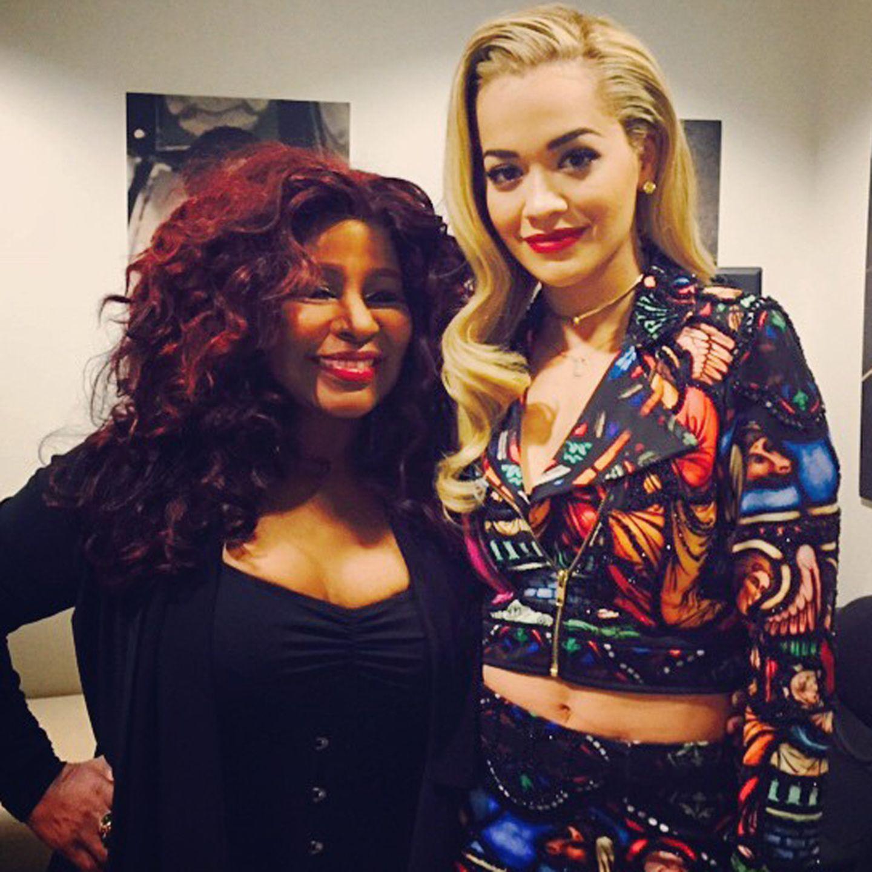 Chaka Khan + Rita Ora