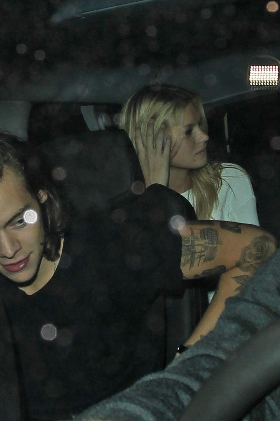 Bereits Ende November verließen Harry Styles und Nadine Leopold gemeinsam einen Nachtclub in Los Angeles.
