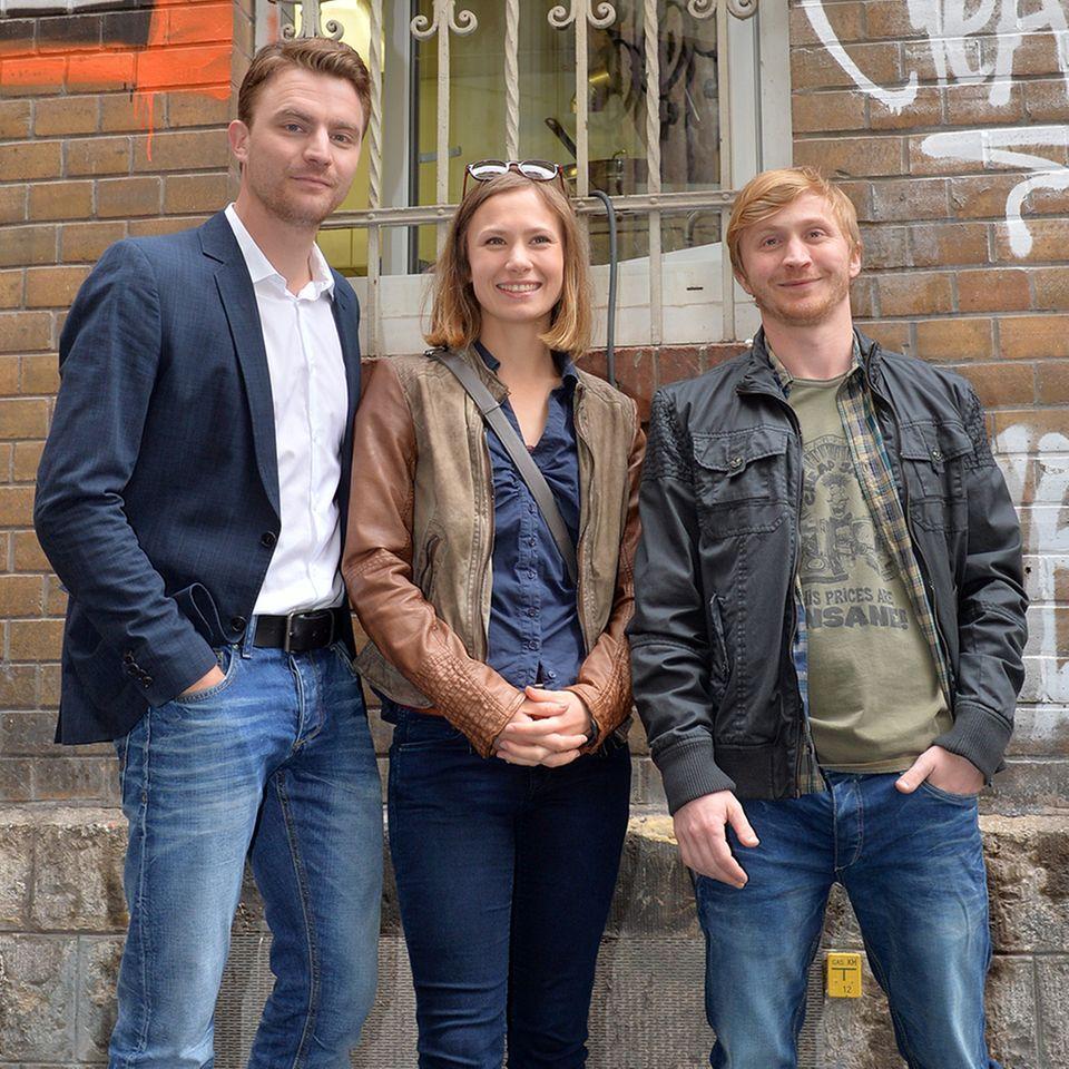 Friedrich Mücke, Alina Levshin + Benjamin Kramme