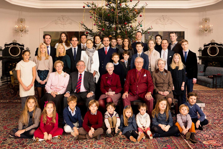 Die dänische und die griechische Königsfamilie
