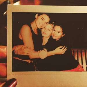 Kendall Jenner, Gigi Hadid, Selena Gomez