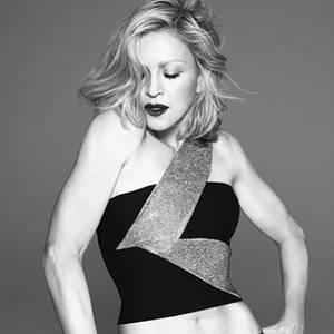 Madonna für Versace
