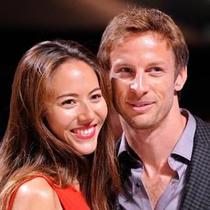 Jessica Michibata, Jenson Button