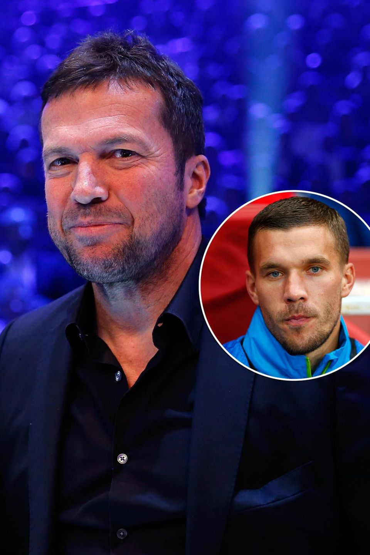 Lothar Matthäus, Lukas Podolski